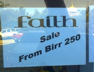 faith sale